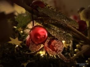 A photograph of the Christmas Decs.