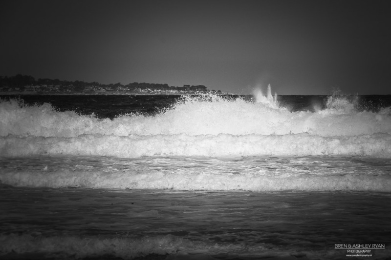 Rough Sea at Monterey