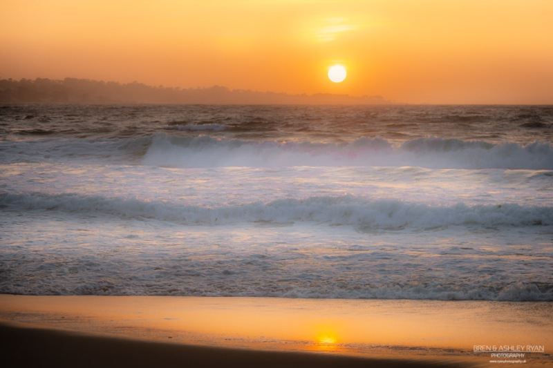 Sunset at Monterey