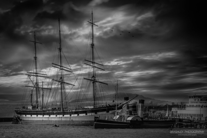 Tall Ship and Paddle Steamer