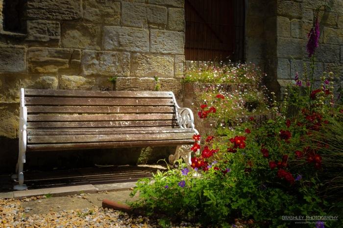Chiddingstone Castle Bench