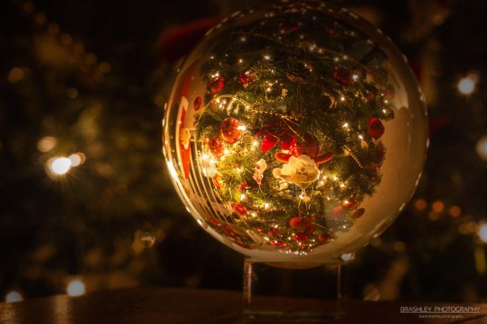 Christmas Lens Ball