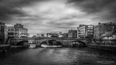 Photographed on the River Ouse in York.