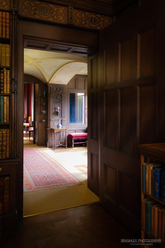 Wooden Door Scotney Castle