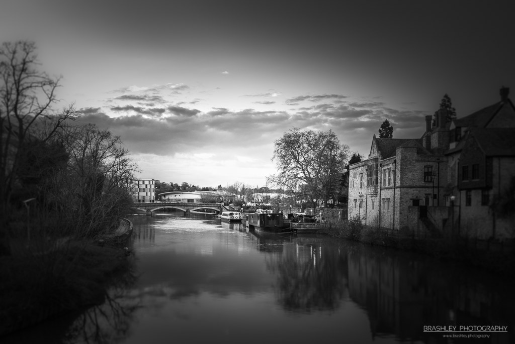 Mid-Week Monochrome #40 – River Medway at Maidstone