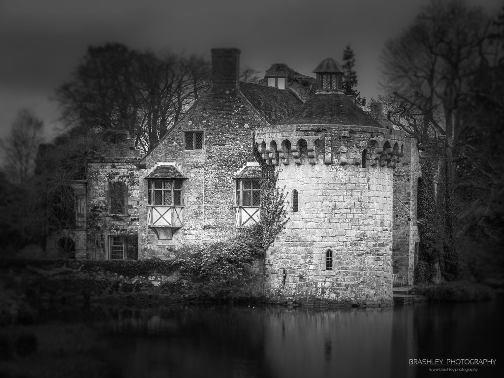 Mid-Week Monochrome #42 – Scotney Castle