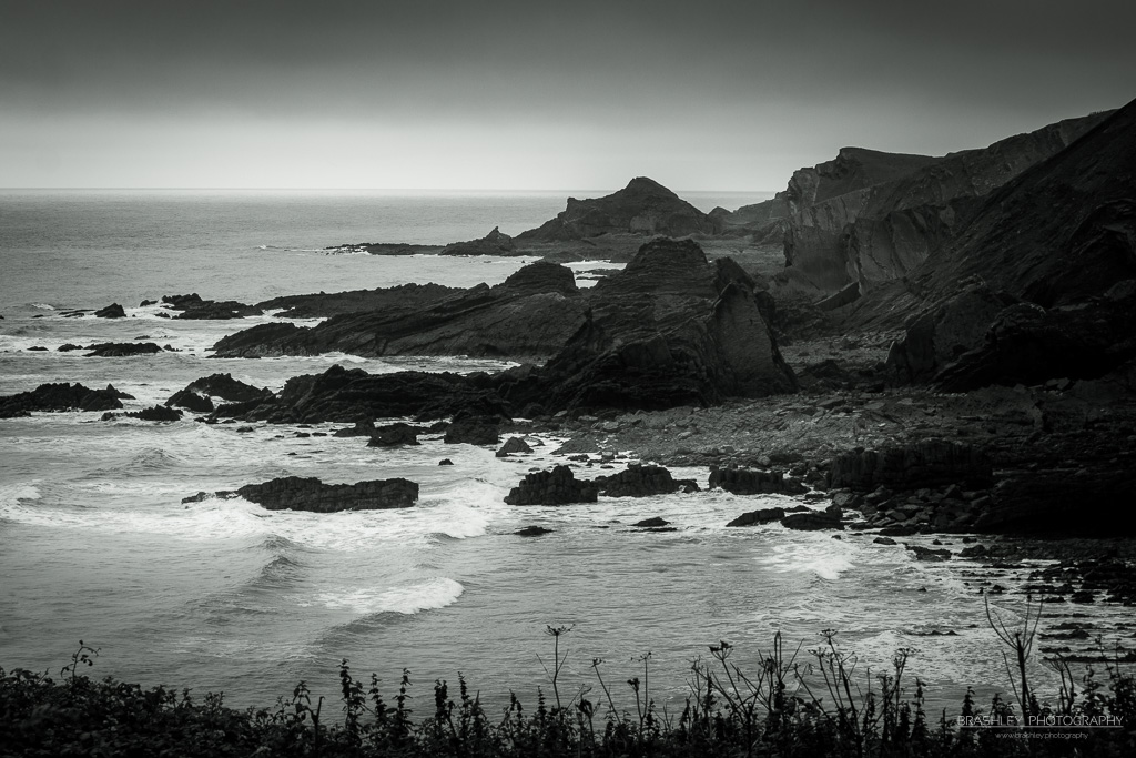 Mid-Week Monochrome #43 – Hartland Quay Devon
